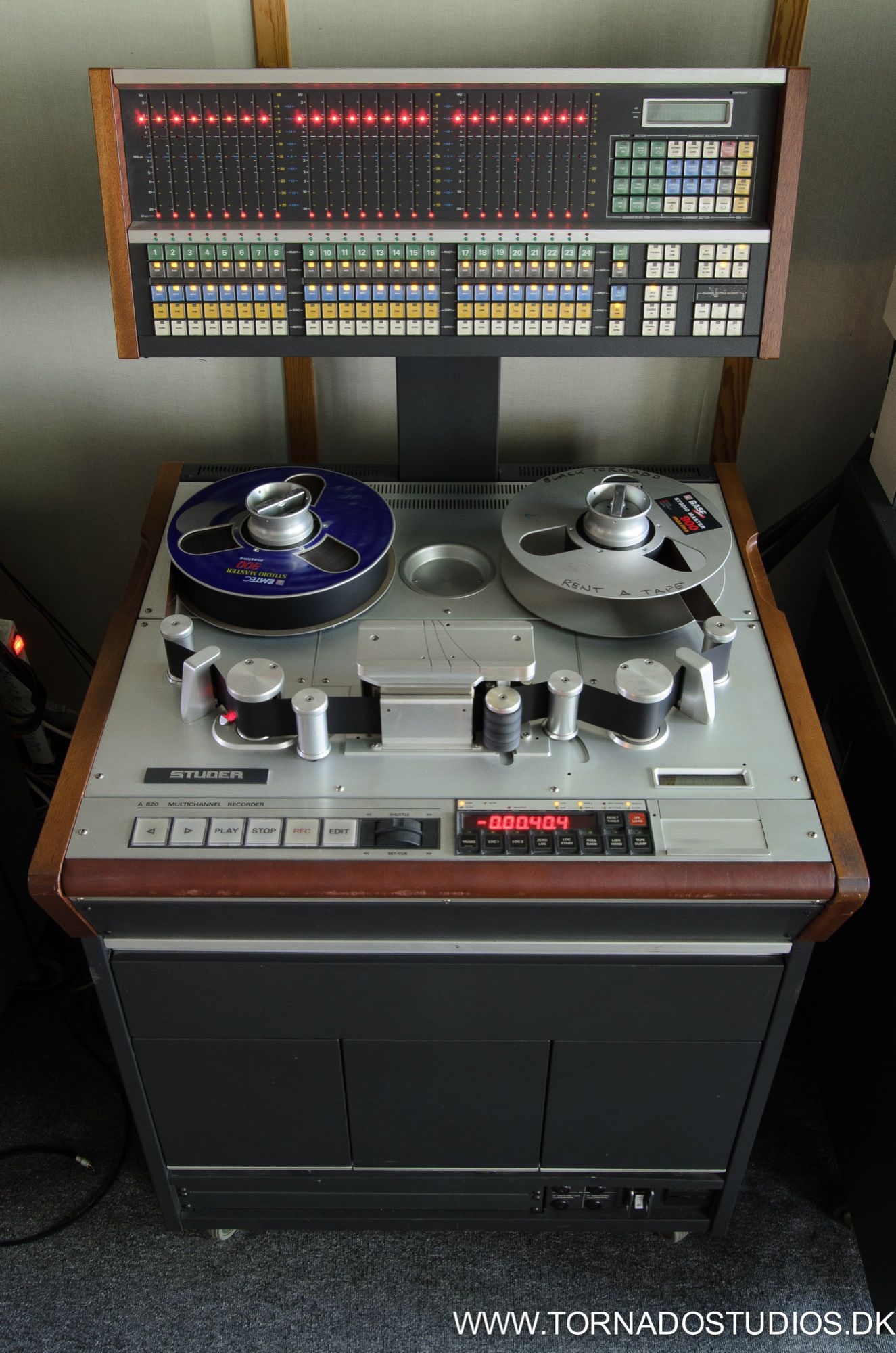 Studer A820MCH 24 track 2 inch analog tape machine