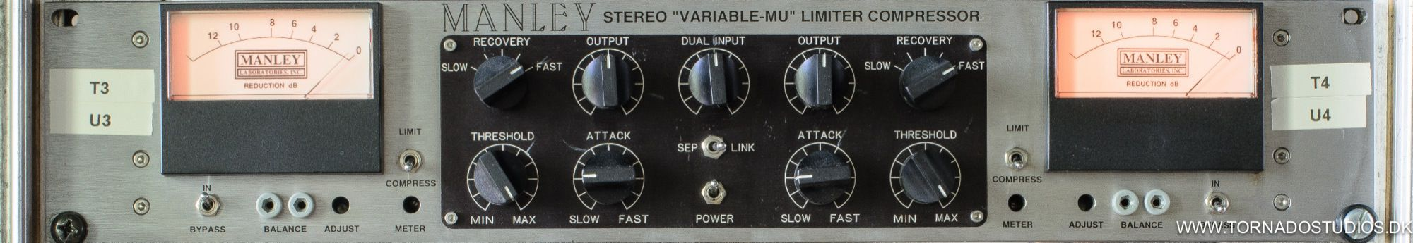 Manley Stereo Variable-MU Limiter Compressor